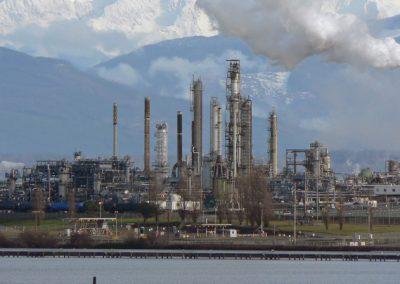 Olieraffinaderij op Sicilië; gesmeerde besturingstechniek