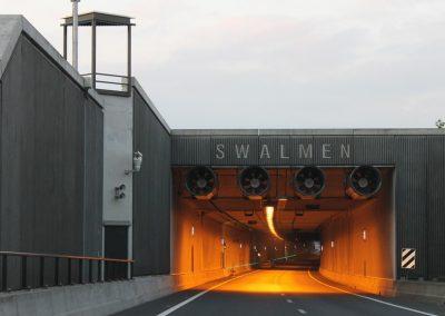 A73; de Roertunnel en Swalmentunnel