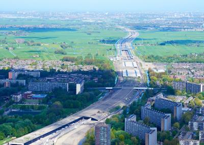 Ketheltunnel A4 Delft-Schiedam