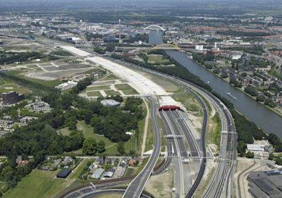 A2 Leidsche Rijntunnel; belangrijke verbinding