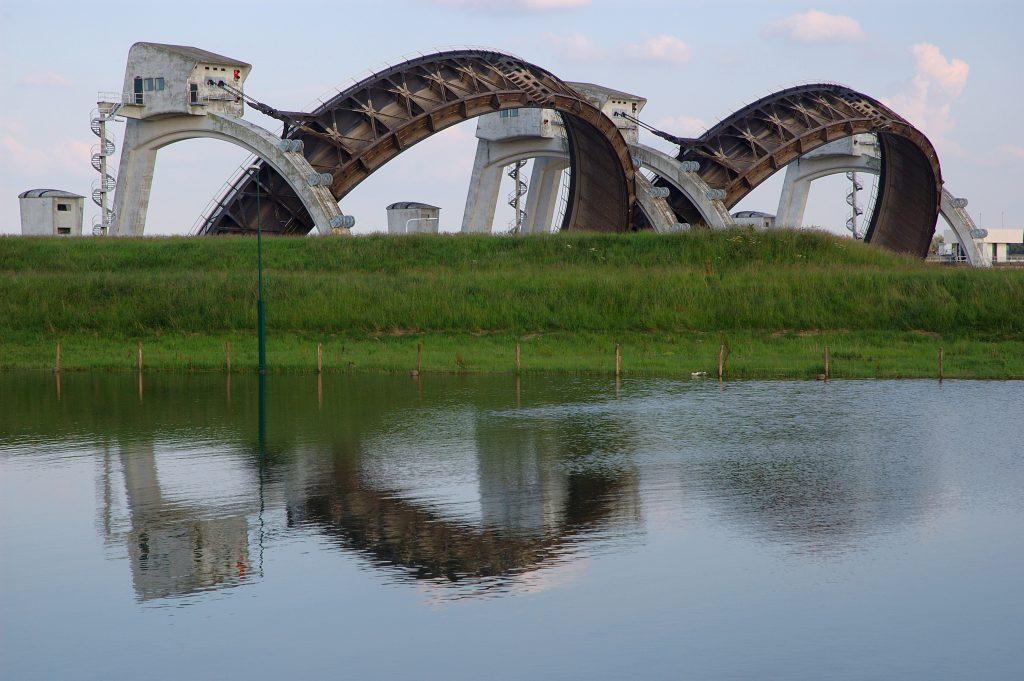 Stuwcomplex, foto Rijkswaterstaat