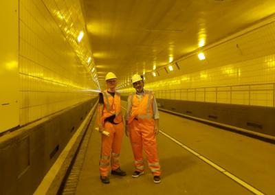 Veiligheidsbeambte Maastunnel