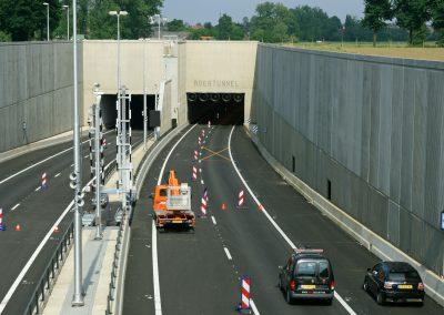 Transitiemanagement tunnels A73